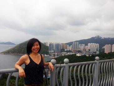 Hazy Hong Kong