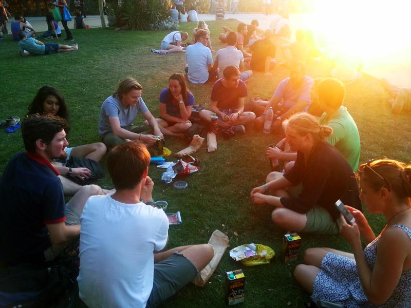 Sunset picnics