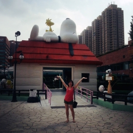 It's no Knott's Berry Farm but it's HK's Snoopy Land!