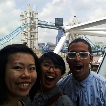 Fellow Vancouverites in London!