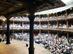 Watching Last Days of Troy at the London Shakespeare Globe