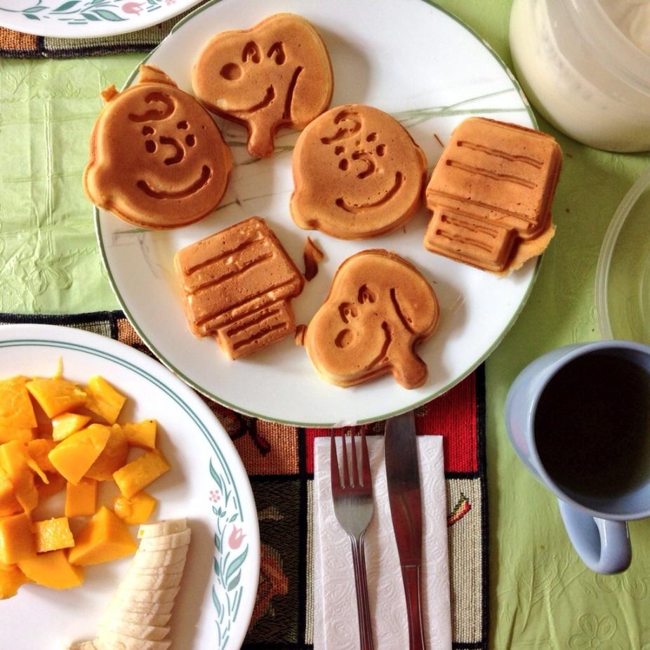 Snoopy Waffles