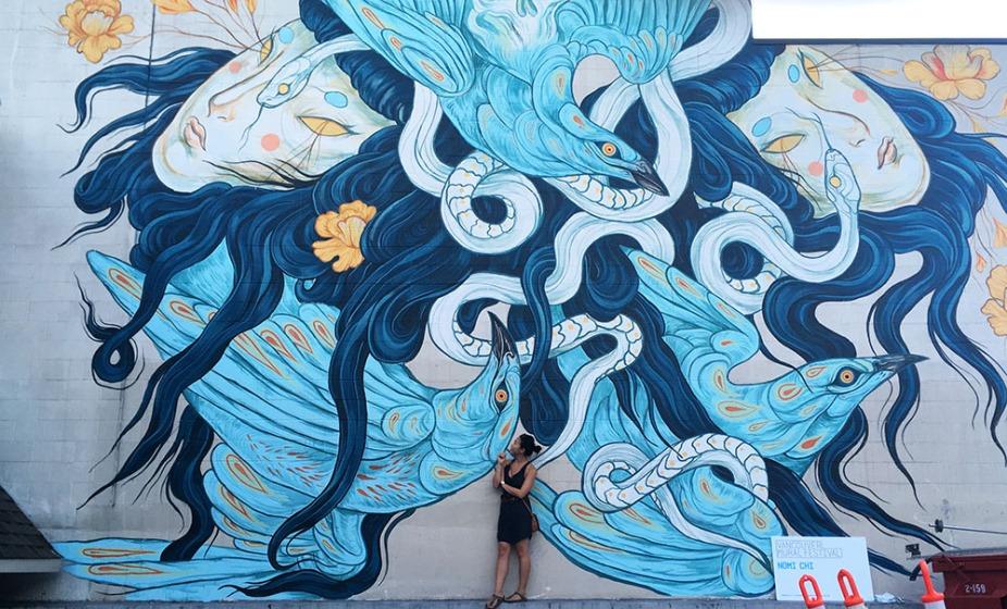 Vancouver Mural Festival 6